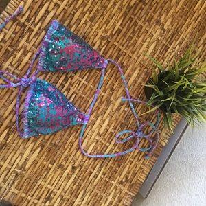 VS sequin bikini top